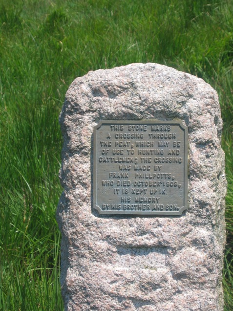 Commemorative Stone - NW Passage