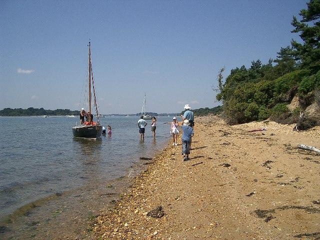 Shoreline of Brownsea Island