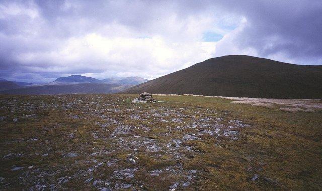 Summit, Meall a' Chaoruinn.