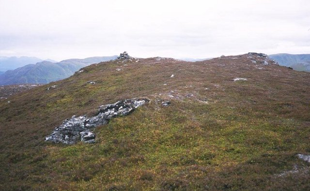Creag Liath summit