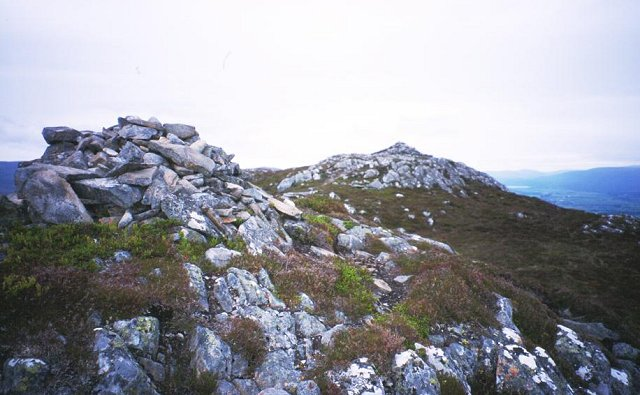 Summit of Creag Dubh.