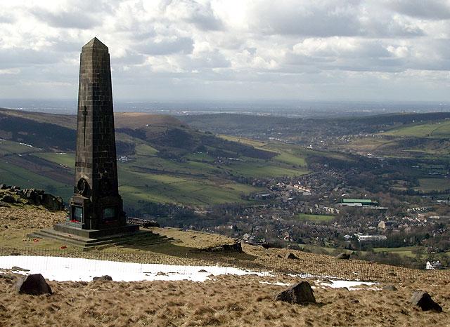 The Obelisk on Alderman's Hill