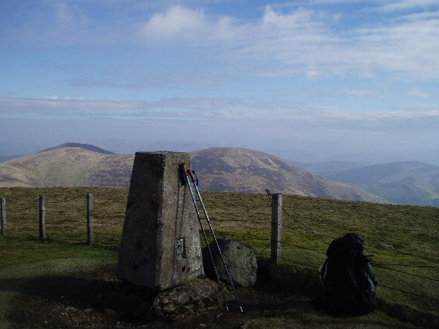 The Summit of Culter Fell
