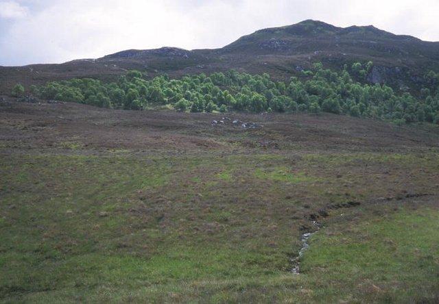 Moors below Meall nan Eagan