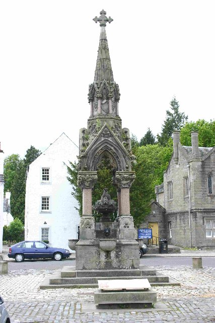 Atholl Memorial Fountain Dunkeld
