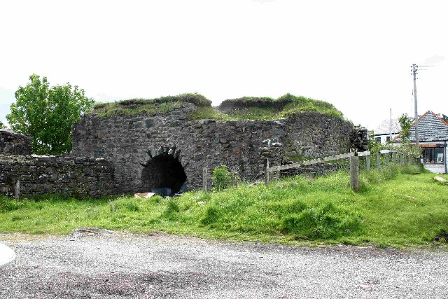 Lime Kiln by the Pier, Broadford, Isle of Skye