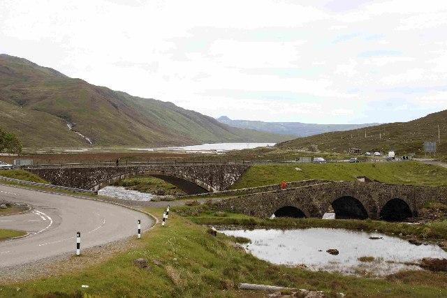 Bridges on A87