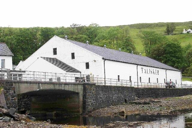 Talisker Distillery, Carbost, Isle of Skye