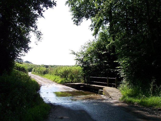 The Ford and Footbridge, Clencher's Mill