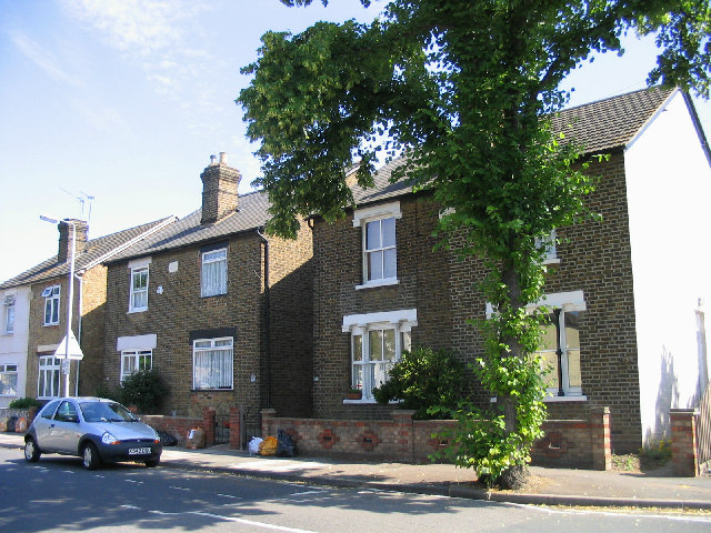 Victorian Cottages, Globe Road, Romford, Essex