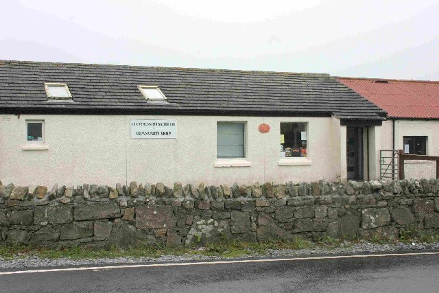 Community Shop at Rubha Ban, Eriskay