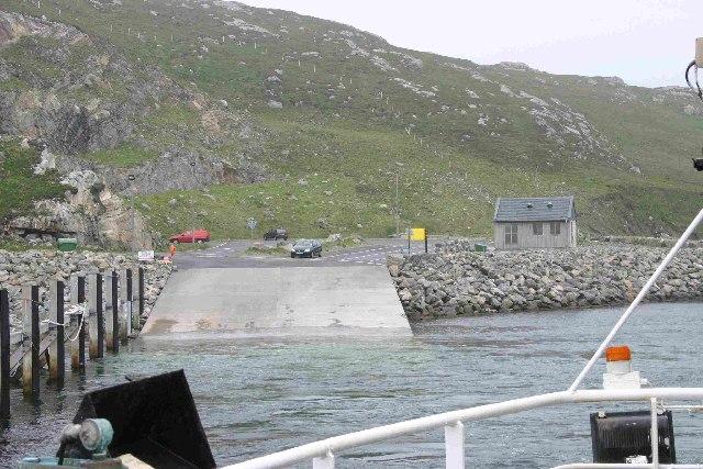 Ferry Terminal Eriskay