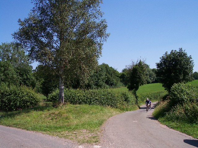 Donnington junction near Smallends Farm