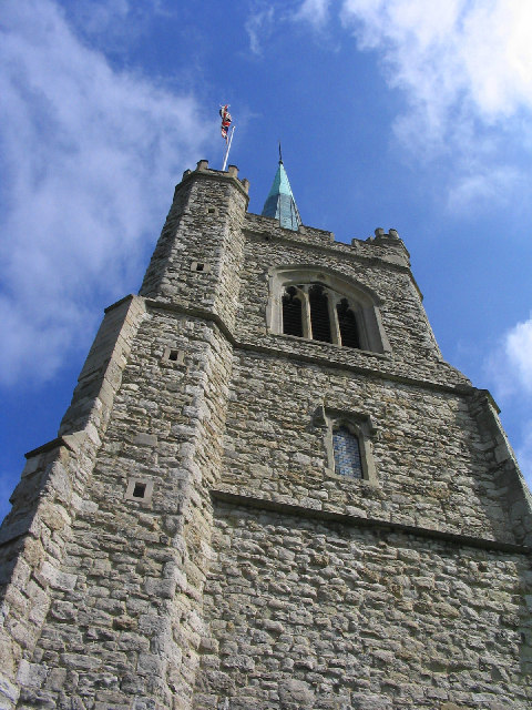 The Bell Tower, St. Andrew's Church, Hornchurch, Essex