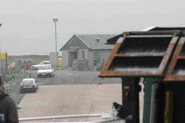 Sound of Barra Ferry Terminal, Barra
