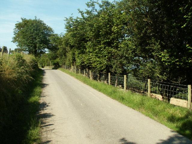 Rural road, nr. Talybont