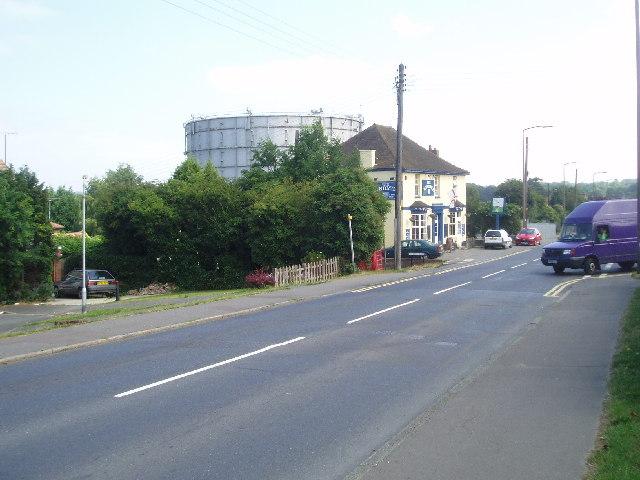 Gasometer in Leylands Road