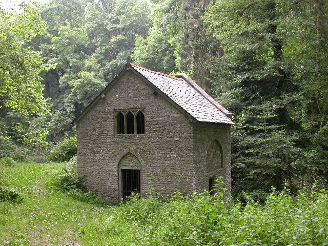 Pump House in Fishpool Valley