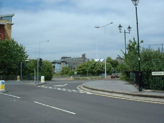 Six Dials junction, Southampton
