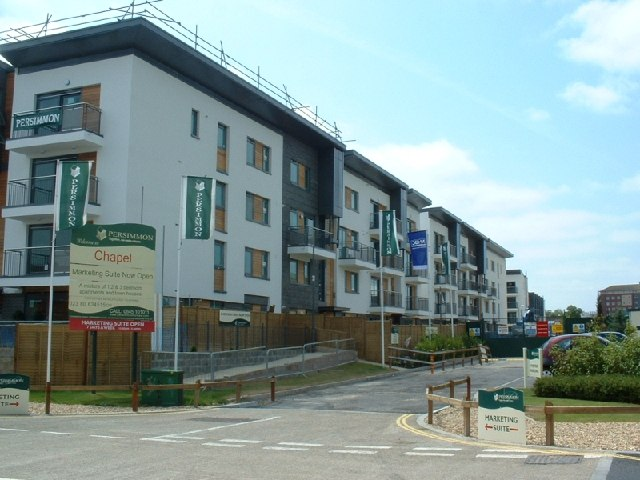 New housing, Chapel, Southampton