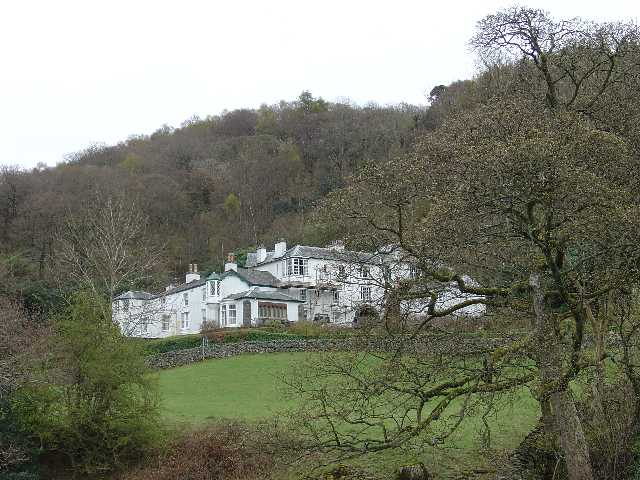 Brantwood, Coniston, Cumbria. Home of John Ruskin from 1872-1900 (Lakeland Writer and Artist)