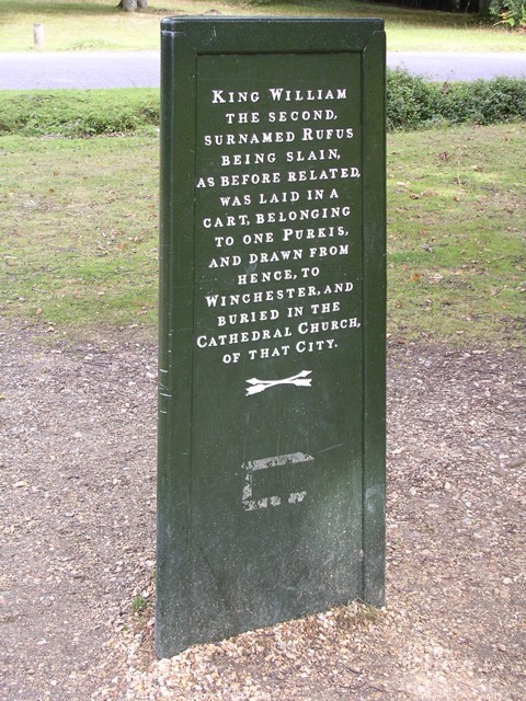 The Rufus Stone, New Forest