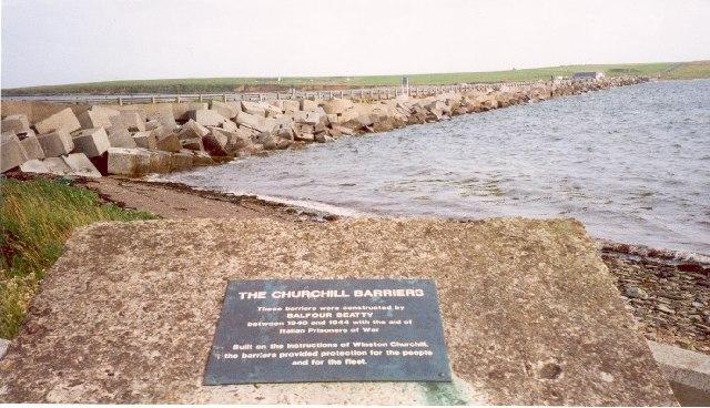 Churchill Barriers
