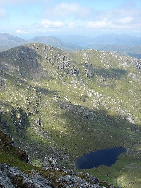 Loch a Choire Uaine The Saddle Glen Sheil