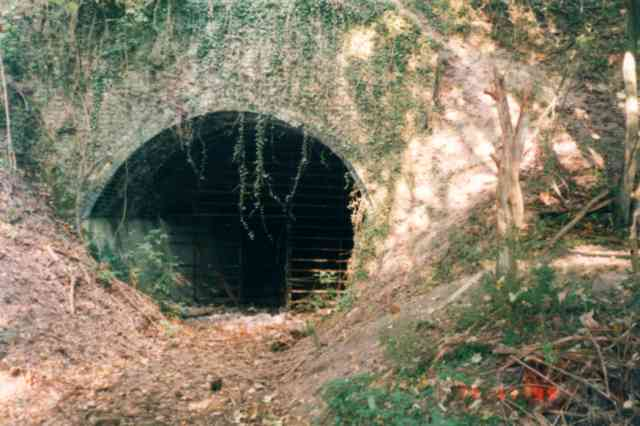 Quarry tunnel at Burham