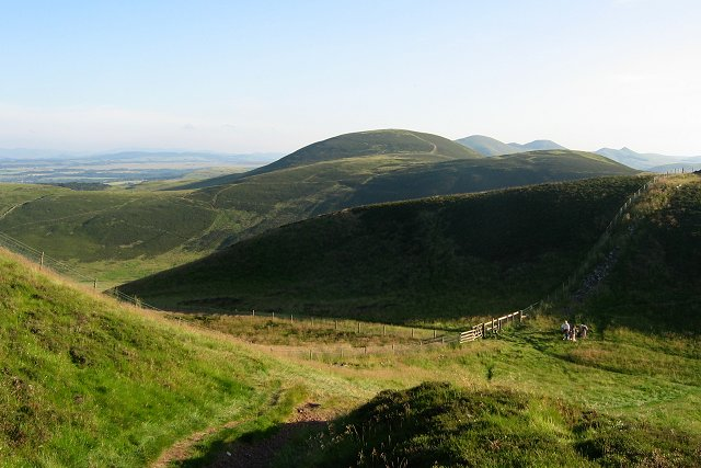 Ridge between Caerketton and Allermuir Hill, Pentlands.