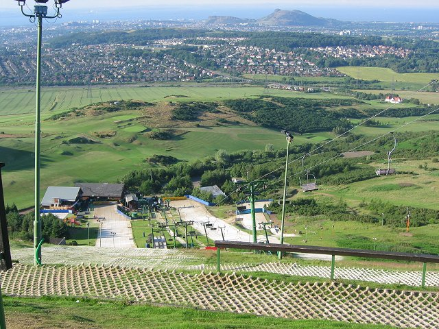 Hillend ski slope