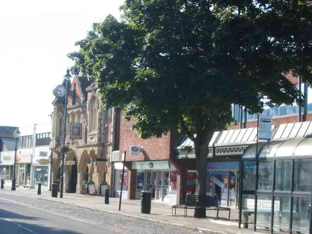 The main street in Berkhamsted