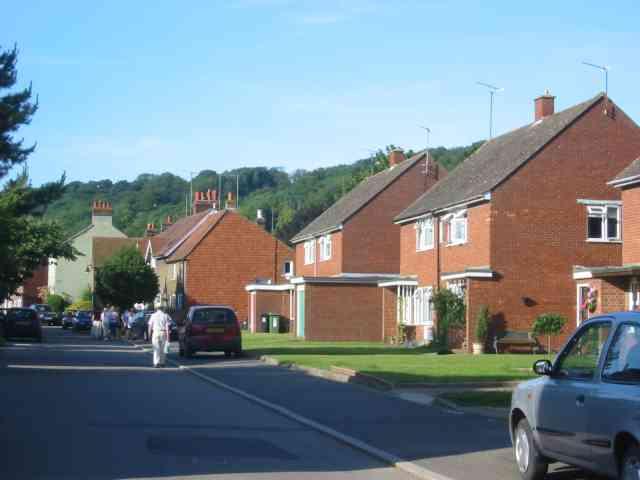 A road in Aldbury