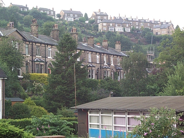 Houses on Baildon Bank