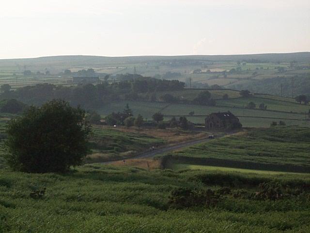 Baildon to Menston road