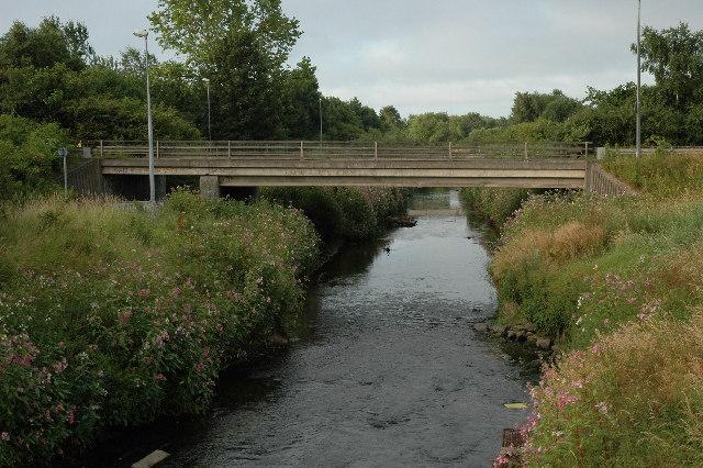 Bridge over Sankey Brook, Warrington