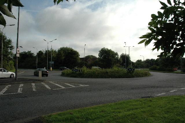Roundabout, Blackbrook Avenue, Warrington