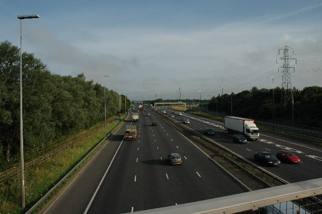M6, Warrington