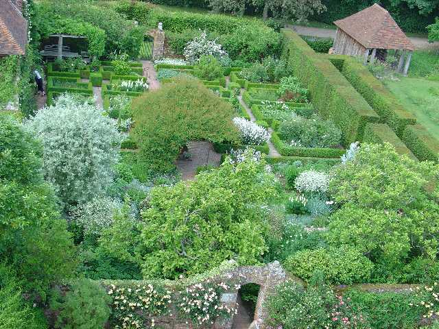 Sissinghurst Castle Garden - The White Garden