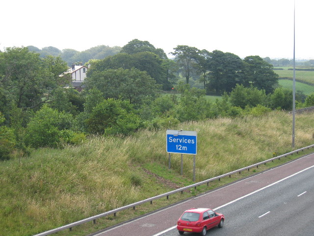 Bank House and Motorway