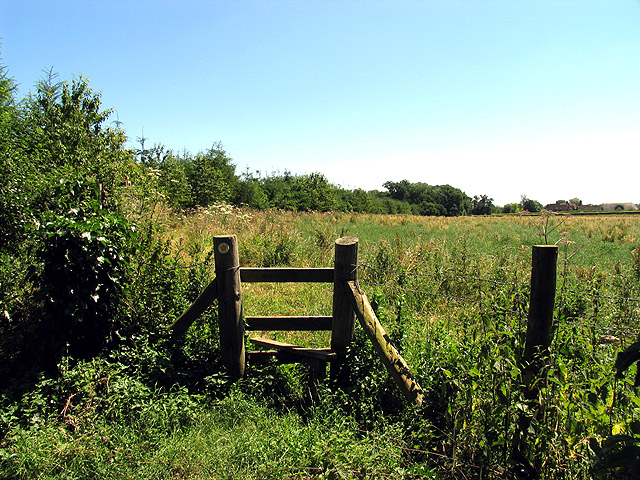 Stile on the Footpath to Querns, near Goring Heath
