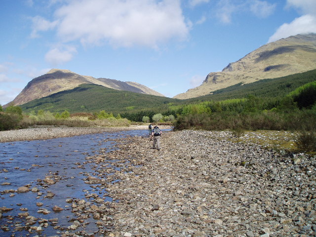 The river Lochy