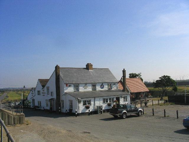 Worlds End Public House, Tilbury Riverside, Essex
