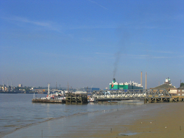 Tilbury Ferry Dock, Tilbury, Essex