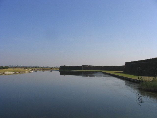 The Moat, Tilbury Fort, Tilbury, Essex