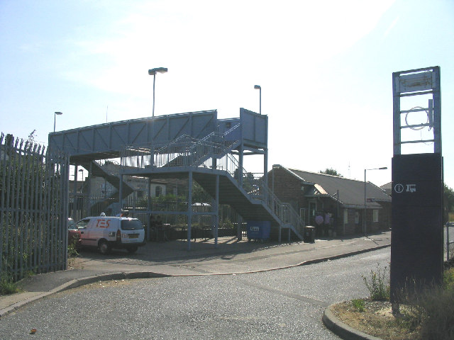 Tilbury Town Railway Station, Tilbury, Essex