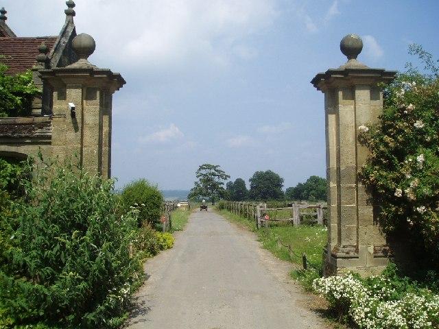 Bridleway through Borde Hill estate