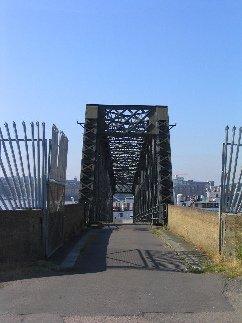 Pedestrian Bridge, Tilbury Ferry, Tilbury, Essex