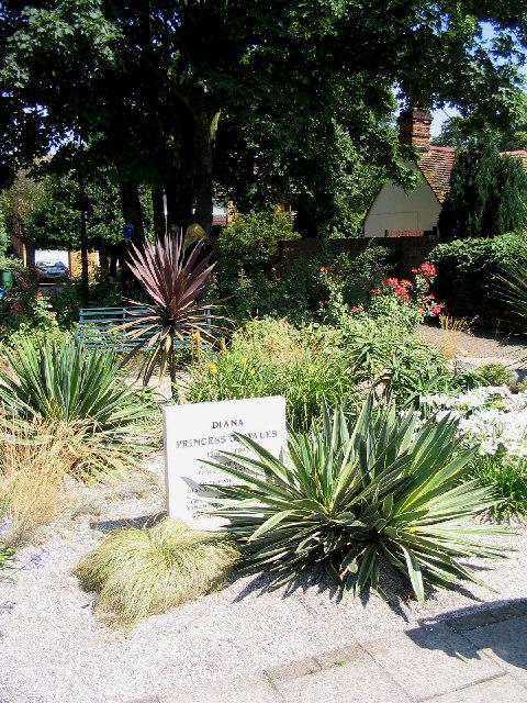 Princess Diana memorial garden, Orsett, Essex
