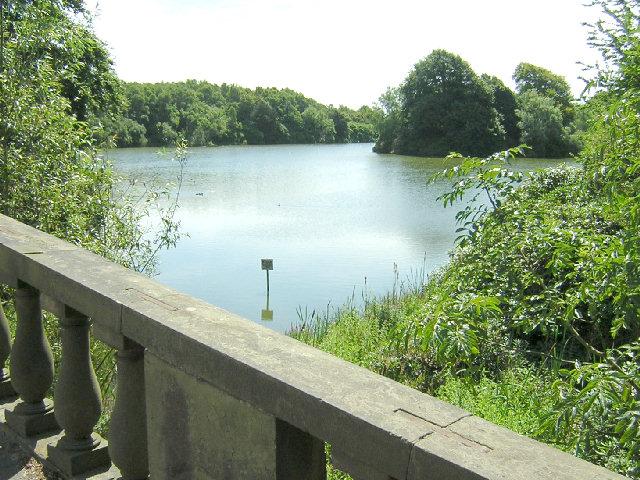 The view from Wrightington Bridge